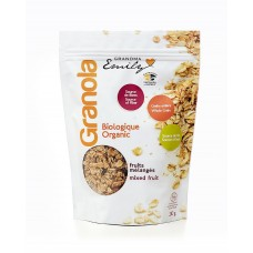 Organic Granola cereals - Mixed Fruit - 0,330 Kg