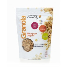 Organic Granola cereals - Raisin Almond - 0,330 Kg