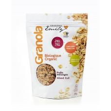 Céréales biologiques granola - fruits mélangés - 0,330 Kg