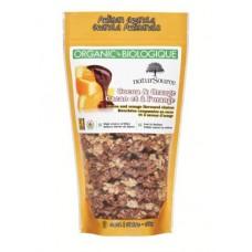 Organic Granola cereals - Chocolate and orange - 0,500 Kg