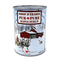 Organic maple syrup - Amber rich taste - 100% pure 540 ml (18,26 oz.) from Canada gluten free, no GMO can