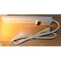 Surge protector power bar 6 outlets strip