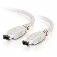 Firewire cable 6 pins to 6 pins 6M6M 6' feet IEEE digital camcorder Mac or PC