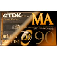 TDK audio metal cassette MA-90 - FREE SHIPPING