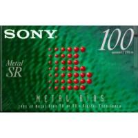 Audio metal cassette SONY METAL 100 MIN - FREE SHIPPING