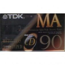 Cassette audio métal TDK MA-90 - LIVRAISON GRATUITE