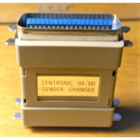 36 pins Centronic CN36 Mini male M/M Adapter Parallel Printer IEEE 1284 SCSI gender changer