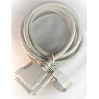 SCSI2 Cable DB25 Male MINIHD50 Male 6' ft feet bulk