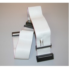 Cable ribbon for 3,5 and 5,25 floppy drive, 18 inch