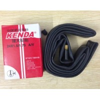 Bicycle tube 24 inch x 1.5/1.75 48mm Schrader valve A/V Kenda