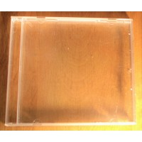 CD/DVD clear standard external jewel case replacement. Empty, no tray 10,4 mm without tray