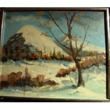 """""""Paysage"""", Bona (Jacques Bonin) non-signé - LIVRAISON GRATUITE"""