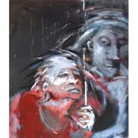 Valérie Blass painting - FREE SHIPPING