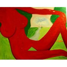 """""""Les baigneuses-11"""", Yves Marineau - LIVRAISON GRATUITE"""