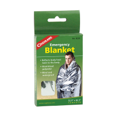 "Aluminium mylar thermal emergency lightweight blanket 1,3 x 2,1 m (52"" x 82,5"")"