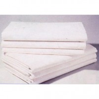 Used stain double bed sheets