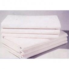 Drap plat Queen comme neuf, 60% coton, 40 % polyester