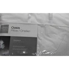 Pillow 100% cotton cover - 233 thread count - filled with 100% white duck feather