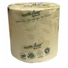 Recycled toilet paper Cascades North River bulk 500 sheets (each rolls)