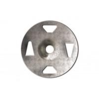 """KERDI-BOARD-ZT TAB washer galvanised steel 1-1/4"""" for Tile panel, shower Board backer"""