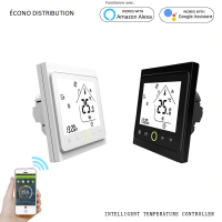 Thermostat Wi-Fi with touch screen for floor heating system 120 and 240 Volts