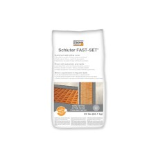 Schluter FAST-SET® rapid-setting modified thin-set mortar