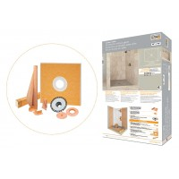 Schluter®-KERDI-SHOWER-KIT without the grate