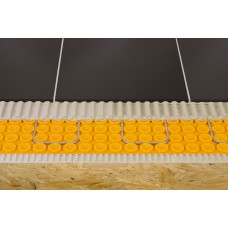 Floor heating waterproof membrane 1 m x 12,5 meters  (39 inches x 41 feet = 134,5 ft2) PP Schluter®-DITRA-HEAT