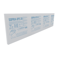 "20 psi. 2"" x 2' x 8'. R10. Thermal insulation board Soprema SOPRA-XPS 20 psi"