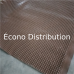Foundation drainage board membrane 2 meters x 15 meters (6 feet 6,7 inches x 49 feet) (sold by the feet) Econo Distribution (HDPE)