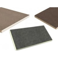 Polyisocyanurate insulation panel 4 x 4 feet x 1 inch NOT between 2 aluminium sheets Isolex Lexcor