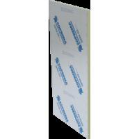 Panneau isolant Polyisocyanure 4 x 8 pieds x 1 pouce entre 2 feuilles d'aluminium Soprema SOPRA-ISO V ALU