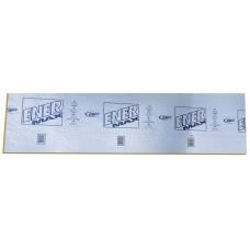 Panneau acoustique insonorisant Enermax 48 X 97 X 1 pouces avec feuille d'aluminium