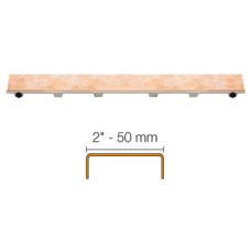 Grate assemblies frameless tileable for channel body kit for Schluter Kerdi Line - FREE SHIPPING