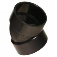 "Elbow 4 "" inches 45o FxF ABS"