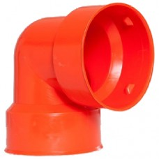 100 mm (4 inch) 45o elbow for French drain