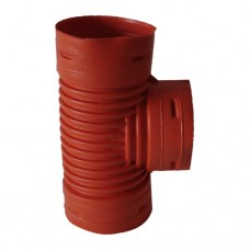 100 mm (4 inch) Tee connector for French drain