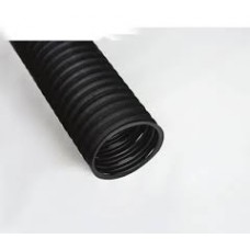 Perforated and coated agricultural or construction French drain 100 mm (4 inches) - sold by the feet