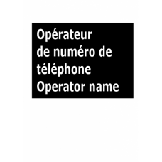 Get specific phone number operator name